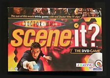 DOCTOR WHO SCENE IT? DVD BOARD GAME - BASED ON THE BBC TV SERIES