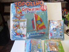 TO9 TOPOLINO n. 2589 2590 2591 2592 BLISTERATO Gadget Completo CATAMARANO PAPER