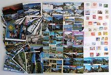 Postkarten Sammlung SCHWEIZ 95 x Mehrbildkarte color, frankiert mit Briefmarken