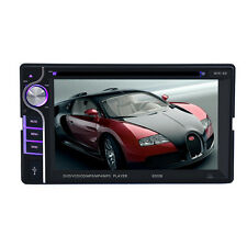 "6.2"" 2 DIN IN-Dash Bluetooth Car Stereo FM Radio MP3 DVD CD Player Touch screen"