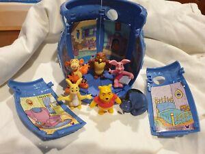 Vintage Disney Winnie The Pooh And Friends Mcdonalds Hunny Pot Full Set Toys