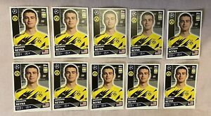 TOPPS UEFA CHAMPIONS LEAGUE 2020/21 SET OF 10 GIOVANNI REYNA STICKER NO DOR 13