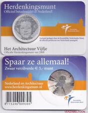 "NEDERLAND 5 EURO  2008: ""HET ARCHITECTUUR IN NEDERLAND VIJFJE"" IN COINCARD"