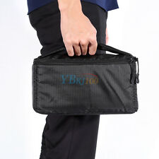 Soft Black Inner Padded Protective Case Bag SLR DSLR Camera Insert Partition