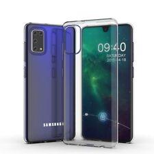 Samsung Galaxy A41 Handy Hülle Silikon Cover Schutzhülle Soft Case transparent