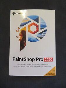 GENUINE Corel PaintShop Pro 2020 Disc & Digital Download Windows
