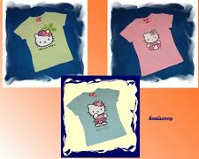 Estupendo Camiseta Hello Kitty Camiseta 3 Modelle 128-164 NUEVO