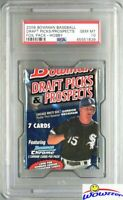 2009 Bowman Baseball Draft Picks HOBBY Pack PSA 10- Look for Mike Trout Auto RC