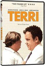 Terri   (DVD)  Jacob Wysocki, John C. Reilly, Creed Bratton  NEW