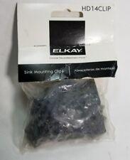 1 package ELKAY SINK MOUNTING CLIPS, 14-Pk, #HD14CLIP