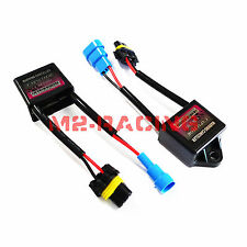2pcs HID FLICKER ERROR WARNING CANCELLER CANBUS CAPACITORS COMPUTER DECODER KIT