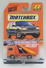 Matchbox 1999 #22 Speedy Delivery Series 5 Volvo Container Truck Allied MOC VHTF
