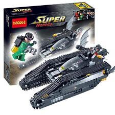 506pcs Batman Green Lantern War Car Tank Building Blocks Minifigures Kids Toys