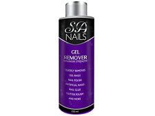 Sanail Gel Polish Remover Acetone UV LED Nail Polish Cleaner Manicure 250ml