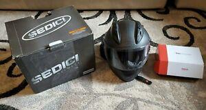 Sedici helmet XLarge promo strada carbon Dot FMVSS N.218 & Sena 10S bluetooth