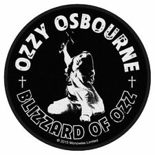 "Ozzy Osbourne "" Blizzard of Ozz "" ( rund ) Patch/Aufnäher 602577 #"