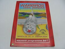 WARBIRDS OVER WANAKA - 2012 - NEW ZEALAND AIR SHOW MAGAZINE PROGRAMME!