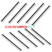 5/10/50/100PCS 40Pin Single Row 2.54mm Straight Male Pin Header Strip PBC