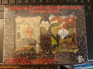 Press Pass promo  cards and Inaugural 34 card preview Racing card collection