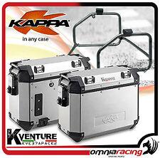 Coppia Valigie Laterali Kappa K-Venture KVE37APACK2 37lt x 2 - Honda Africa Twin