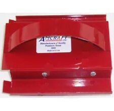 """Amcraft 1084  1-1/2"""" Kerfing Tool, 90 Degree """"V"""" RED"""