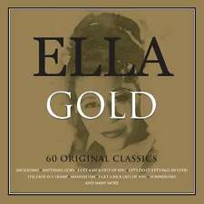 Ella Fitzgerald GOLD Best Of 60 Essential Songs COLLECTION New Sealed 3 CD
