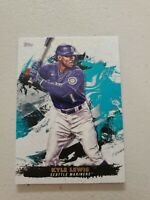 Kyle Lewis Lot 2021 Topps Inception Base Card #80 Seattle Mariners