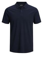Jack & Jones Noos Ebasic Slim-Fit Cotton Polo (Navy)