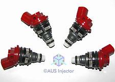 Set of 4 HIGH FLOW 1200cc Side Feed Injectors fit SUBARU EJ255 EJ257 [11083-4-0]