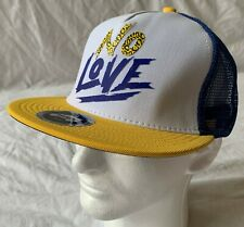 Trukfit No Love Casual Adjustable Mesh Back Trucker Snap-Back Cap - One Size