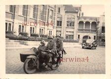 Vorkommando belgischen Beute Motorrad Rene Gillet 750 Sint - Niklaas Belgien
