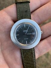 Omega OVERSIZED Grey Silver Deville Automatic Mens Watch