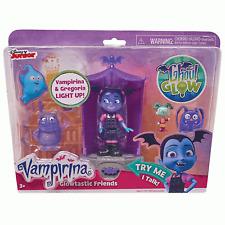 Disney Junior Jr Vampirina Glowtastic amis Playset Inc 2 Figurines + Accessoires