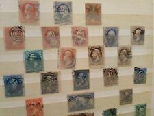 Briefmarken Album - USA - 1850 er Jahre+
