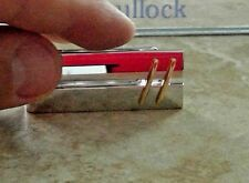 DOLAN BULLOCK 92.5 18k gold spring loaded  money clip dmc026100 rare