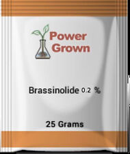 Brassinolide 0.2% 25 Grams plant steroid With Instructions, Spoon & Rebate