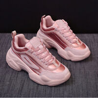 Women's Sneakers Sports Casual Fitness Walking Running Platform Shoes Athletic