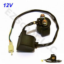 STARTER RELAY SOLENOID MAGNETIC SWITCH GY6 4 STROKE SCOOTER ATV BAJA PEACE JCL