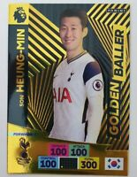 2020/21 PANINI Adrenalyn EPL Soccer Card - Golden Baller Son Heung-Min Tottenham