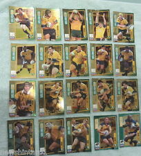 #LL.  WALLABY GOLD WEETBIX RUGBY UNION 20 CARD SET