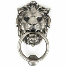 Dal Anvil LION'S HEAD con batacchio-Antico Peltro 33019