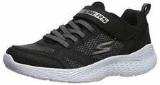 Skechers Boys Kids Snap Sprints Trainers, Black, Comfortable, Slip on, Shoes