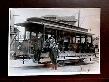 Vintage 5x7 PHOTO CHESTER PERRY RAIL ROAD AMERICAN EXPRESS train Early 1900's