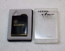 VINTAGE CONSUL AMOR ATOMIZER GERMANY ADVERTISING WESTINGHOUSE UNUSED IN ORG BOX