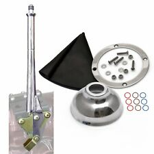 11 Transmission Mount Emergency Hand Brake with Black Boot Silver Ring and Cap