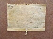 More details for 1663 gargrave in craven yorkshire 17th century vellum deed document indenture