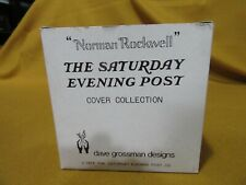 Norman Rickwell: Saturday Evening Post cover collection figurine