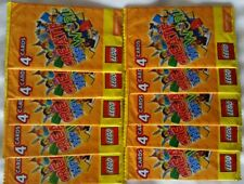 20 x LEGO packs - The World OFFICIAL collectors STICKERS Sainsbury's cards