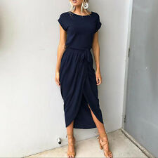 Women Summer Long Maxi Dress Boho Evening Cocktail Party Dresses Beach Sundress