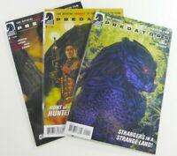 DARK HORSE Comics PREDATORS (2010) #0 3 4 VF/NM (9.0) LOT Ships FREE